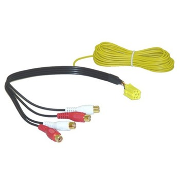 AIV Line Out Adapter - Mini ISO till RCA - 4-kanals image
